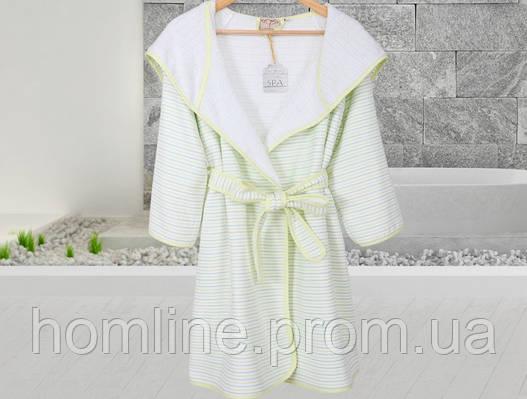 Халат махровый Irya Lotus a.yesil зеленый L/XL