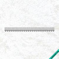 Термоаппликации из страз на белье для беременных Орнамент (Стекло,2мм-черн.)