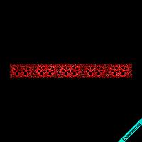 Термоперевод на светри Квітковий орнамент (Скло,2мм-черв.)
