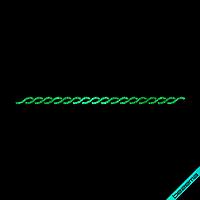 Наклейки из страз на джинсы Орнамент (Стекло,2мм-изумр.)