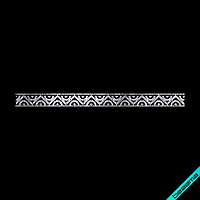 Термоперевод на вітровки Орнамент (Скло,2мм-біл.)