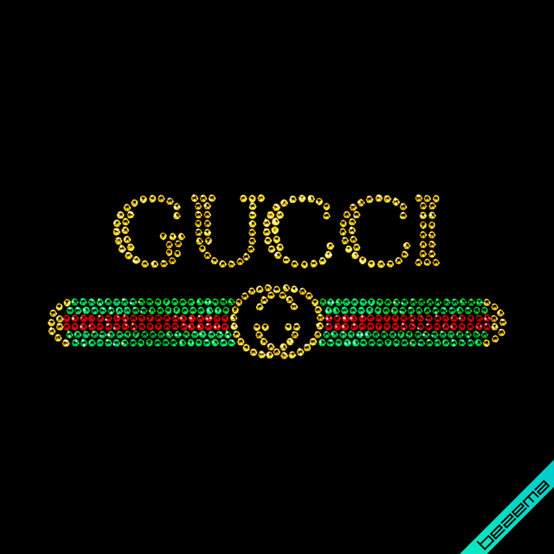Рисунки на тканину Логотип (Скло, 2мм-золото, 2мм-черв, 2мм-смарагд)