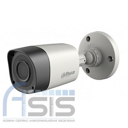 2.0 МП HDCVI видеокамера DH-HAC-HFW1200RM (3.6 мм)