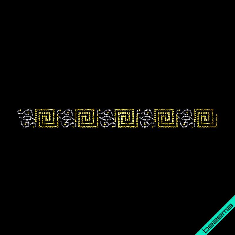 Термопринт на комбинезоны Логотип (Стекло,2мм-зол.,3мм-тем.серебр.)