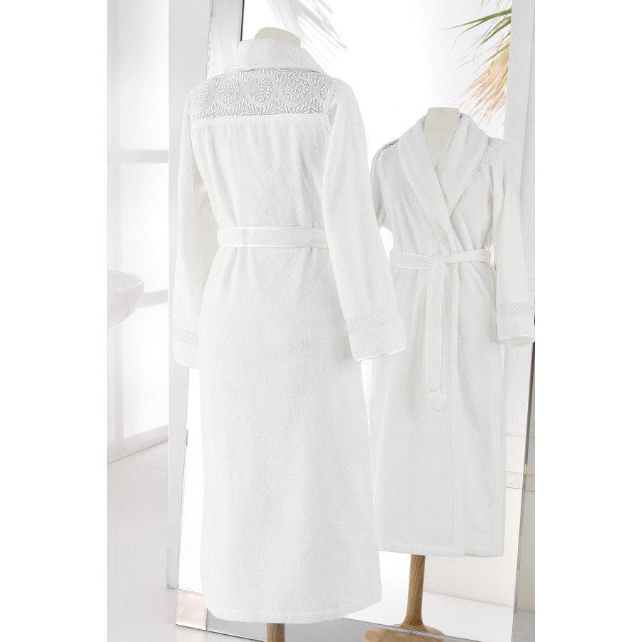 Soft cotton халат Queen M кремовий