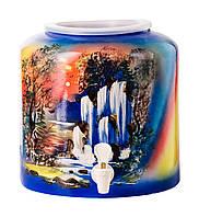 Диспенсер керамический для воды Водопад