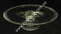 31975 Подставка стеклянная, высота ~ 9 см, диаметр ~ 30 см