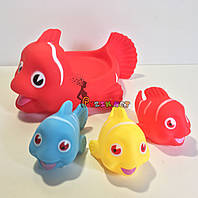 """Набор игрушек в ванночку 4 шт """"Рыбки"""", фото 1"""