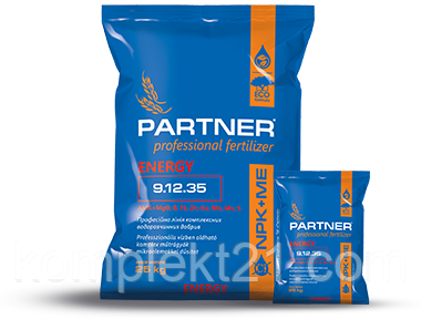 Удобрение Partner Energy 9.12.35 (25кг) с аминокислотами