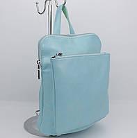 Стильный рюкзак-сумка Valensiy 88118-13 нежно-голубой, фото 1