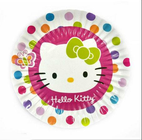 """Серия """"Hello Kitty"""" Набор тарелок 10 штук 180 мм"""