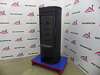 Печь чугунная Plamen Nera черная, фото 1