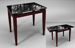 Стол обеденный Тореро Черный+Коричневый (Sentenzo TM), фото 2
