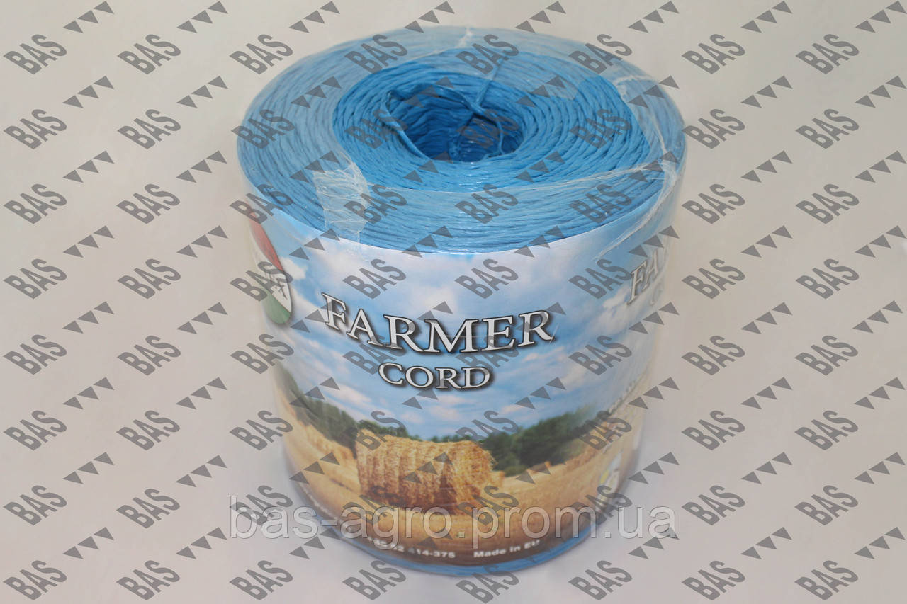 Шпагат синий 0.60-AS, 600 м/кг, 1666 tex, 3000 м (5 кг+/-5%) AGROTEX