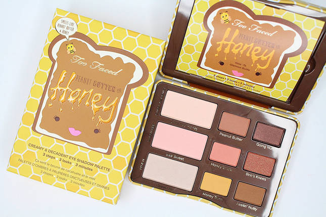 TOO FACED Peanut Butter and Honey Palette, фото 2