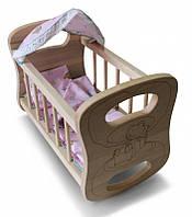 Кроватка ArInWood для куклы (03-109)