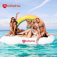 Modarina Надувной матрас Облако с радугой 240 см