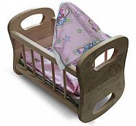 Кроватка ArInWood для куклы (03-110)