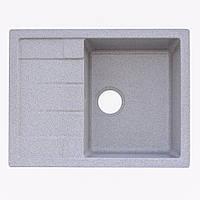 Кухонная мойка Platinum 6550 Grey
