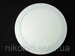 Светильник точечный Slim LED 18W круг нейтральный белый