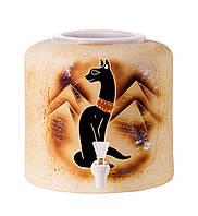 Диспенсер керамический для воды Шамот Кот