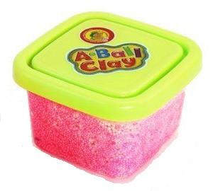 Пластилин шариковый мелкозернистый Розовый (55 грамм)