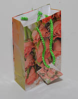 Подарочный пакет малый 11х18x5 DBV