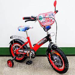 """Велосипед TILLY детский 14"""" Пожежник (red + black)"""