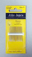 Иглы для шитья №9 Sharps Needles