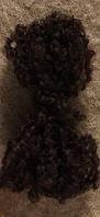 Волосы для куклы Тильда цвет черный (брюнет)
