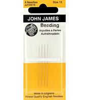 Иглы для вышивания бисером № 15 Beading Needles