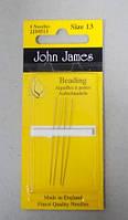 Иглы для вышивания бисером № 13 Beading Needles