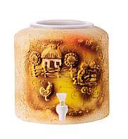 Диспенсер керамический для воды Шамот Украинская хата