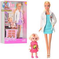 Кукла DEFA Доктор с дочкой