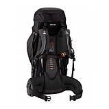 Туристический рюкзак Vango Sherpa 60:70 Black, фото 2