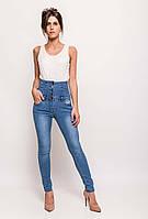 Cкинни с высокой талией и шнуровкой на спине Daysie Jeans (Европа) Синий
