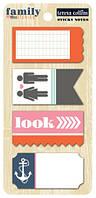 Примечания на клеевой основе Teresa Collins  - Sticky Notes, FS1023