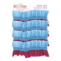 Креп лента Glitz Design - Cashmere Dame - Crepe Trim Ruffle Paper, CR3702