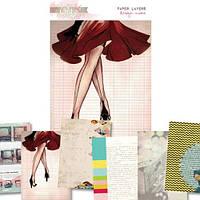 Листы Glitz Design - Cashmere Dame - Paper Layers , PL3429