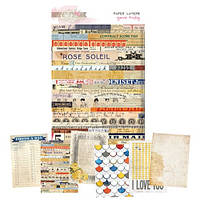 Листы Glitz Design - Yours Truly - Paper Layers , PL3436