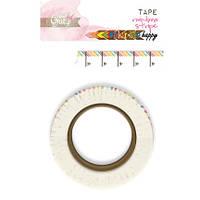 Декоративная лента Glitz Design - Color Me Happy - Rainbow Stripe Washi Tape , WN0366