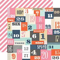 Бумага для скрапбукинга Teresa Collins  - Multi Stripe, 30Х30, FS1004