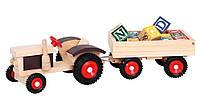 Трактор с кубиками ТМ Bino (82077)