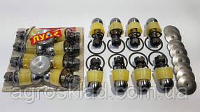 Ремкомплект рулевых тяг ЛУАЗ ЗАЗ 968 запорожец пальцы шкворня колодки