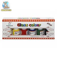 Набор красок для стекла
