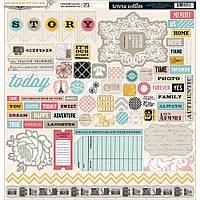 Чипборды Teresa Collins - Die Cut Chipboard Stickers, SUM115