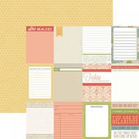 Бумага для скрапбукинга  Teresa Collins - Notecards, 30х30, HSS142