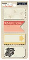 Примечания на клеевой основе Teresa Collins - She said - Sticky Notes, HSS166