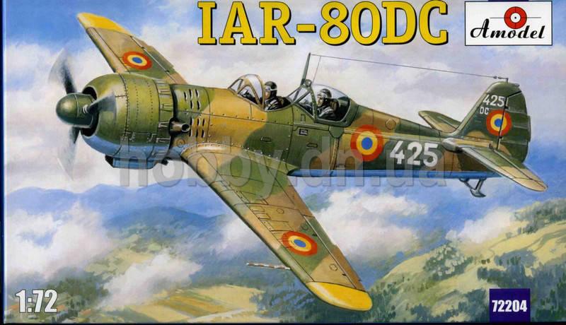 IAR-80DC ROMANIAN TRAINING AIRCRAFT.1/72 AMODEL 72204  , фото 2