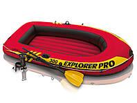 Надувная лодка INTEX Explorer Pro 300 58358